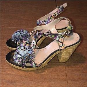 Tahari vintage platform heels, 9 1/2